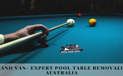 2 Men And Van- Expert Pool Table Removalists in Australia