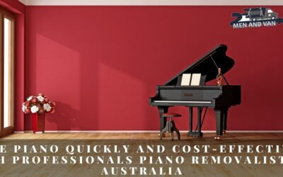 Move Piano Quickly and Cost-Effectively with Professionals Piano Removalists in Australia