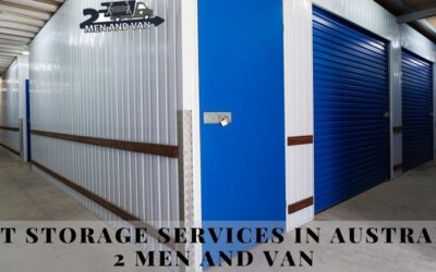 Best Storage Services in Australia | 2 Men and Van