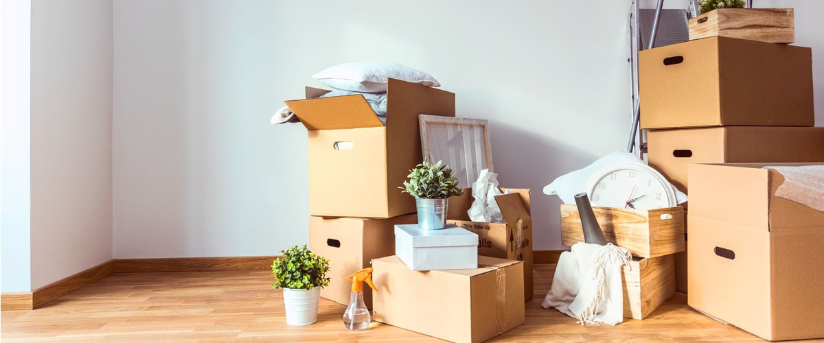 Image of household items packed by the House Movers